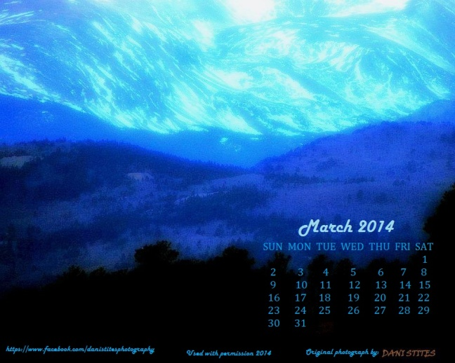 MAR 2014 CALENDAR WALLPAPER